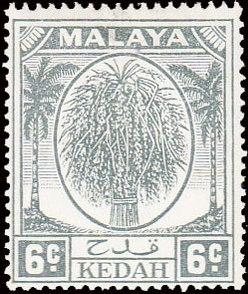 Malaya-Kedah 1950 Definitives e.jpg