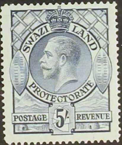 Swaziland 1933 George V i.jpg