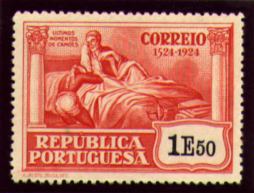 Portugal 1924 400th Birth Anniversary of Camões w.jpg