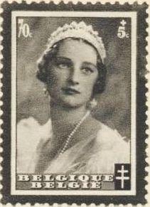 Belgium 1935 Queen Astrid Memorial Issue e.jpg