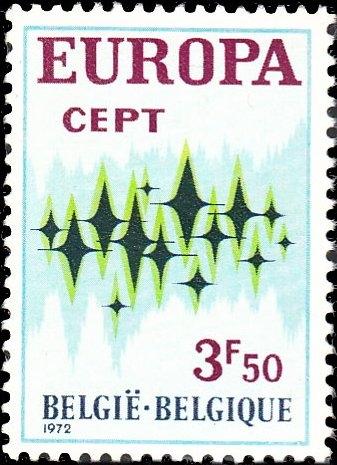 Belgium 1972 Europa