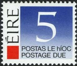 Ireland 1988 Postage Due Stamps e.jpg