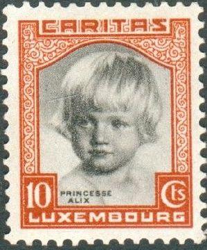 Luxembourg 1931 Princess Alix