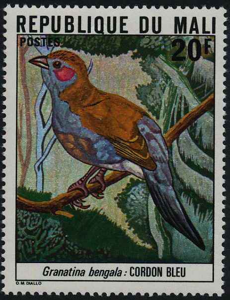 Mali 1978 Mali Birds (2nd Group) a.jpg