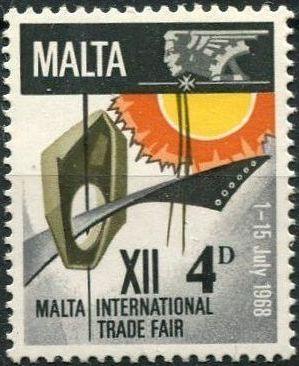 Malta 1968 International Trade Fair