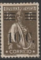 Portugal 1928 Ceres Surcharged