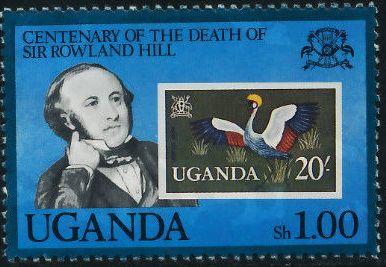 Uganda 1979 Centenary of the death of Sir Rowland Hill