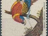 Vatican City 1989 Birds from Eleazar Albin Engravings