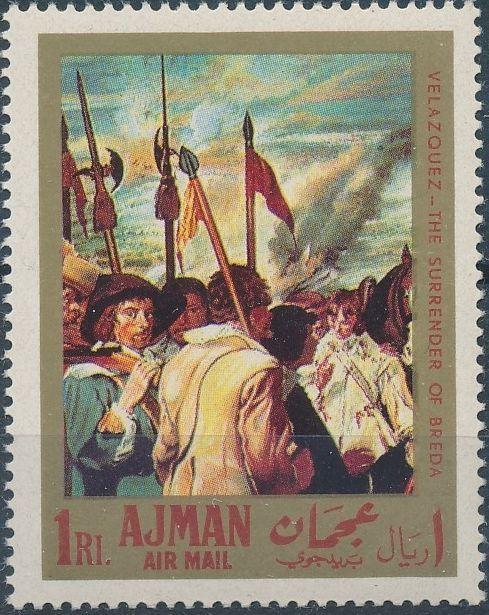 Ajman 1968 Paintings by Diego Rodriguez de Silva y Velazquez