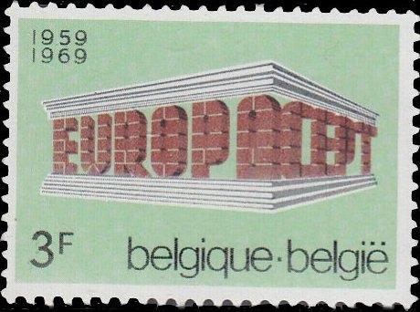 Belgium 1969 Europa