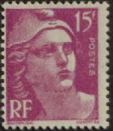 France 1945 Marianne de Gandon (1st Group) i.jpg