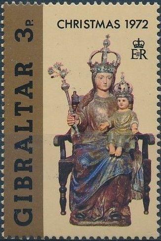 Gibraltar 1972 Christmas