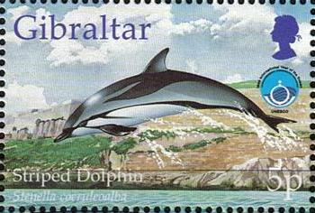 Gibraltar 1998 UNESCO International Year of the Ocean