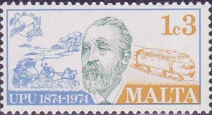 Malta 1974 Centenary of Universal Postal Union