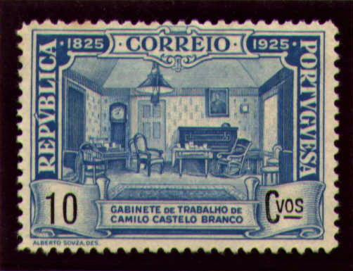 Portugal 1925 Birth Centenary of Camilo Castelo Branco g.jpg