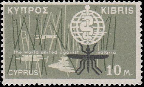 Cyprus 1962 Malaria Eradication
