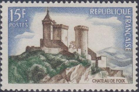 France 1958 The Foix Chateau