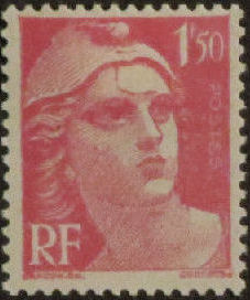 France 1945 Marianne de Gandon (1st Group)