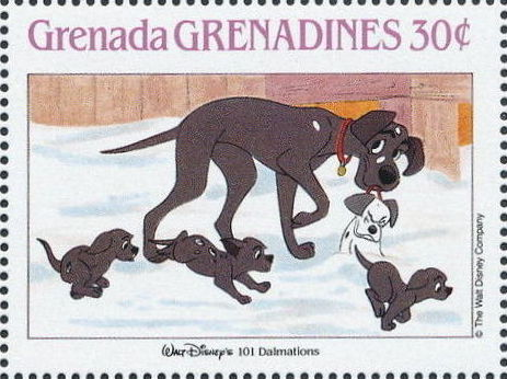 Grenada Grenadines 1988 The Disney Animal Stories in Postage Stamps 3h.jpg