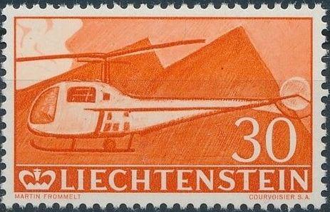 Liechtenstein 1960 Aircrafts