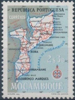 Mozambique 1954 Map of Mozambique e.jpg