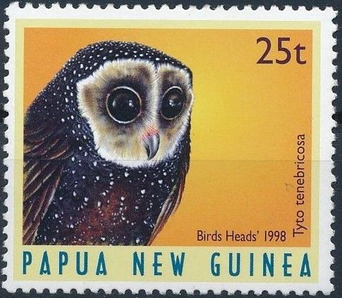 Papua New Guinea 1998 Birds' heads