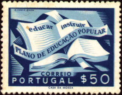 Portugal 1954 National Literacy Campaign