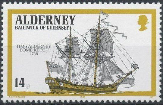 Alderney 1990 Ships Called HMS Alderney