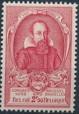 Belgium 1952 World Post Congress d.jpg