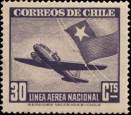 Chile 1941 Air Post Stamps (Type 1941) c.jpg