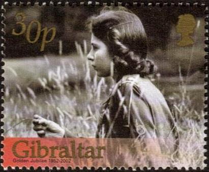 Gibraltar 2002 H.M. Queen Elizabeth II Golden Jubilee