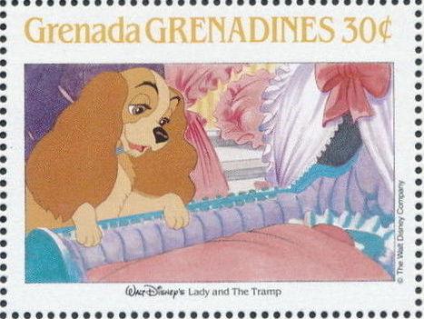 Grenada Grenadines 1988 The Disney Animal Stories in Postage Stamps 5c.jpg