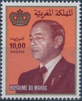 Morocco 1983 King Hassan II f.jpg