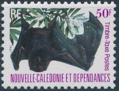 New Caledonia 1983 Bat Issue (Official Stamps) i.jpg
