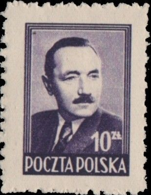 Poland 1949 President Boleslaw Bierut (2nd Group) c.jpg