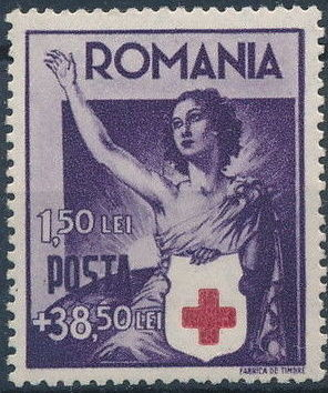 Romania 1941 Red Cross