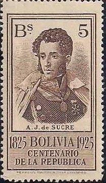 Bolivia 1925 Centenary of the Republic j.jpg