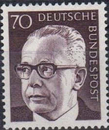 Germany, Federal Republic 1971 President Gustav Heinemann (4th Group) c.jpg