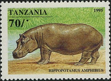Tanzania 1995 African Hoofed-animals