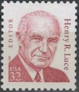 United States of America 1998 Great Americans Issue - Henry R. Luce