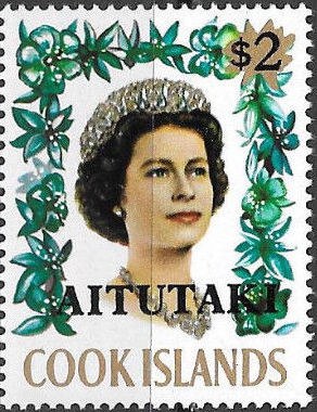 Aitutaki 1972 Flowers from Cook Islands Overprinted AITUTAKI k.jpg