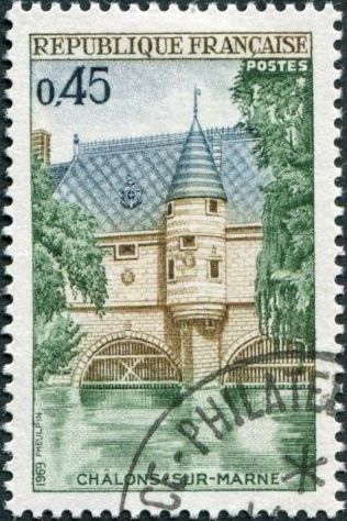 France 1969 42nd Congress of the Federation Philatelic Societies