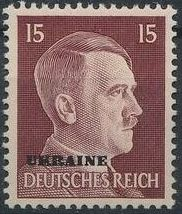 German Occupation-Ukraine 1941 Stamps of German Reich Overprinted in Black i.jpg