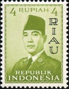 Indonesia-Riau 1960 President Sukarno - Definitives d.jpg
