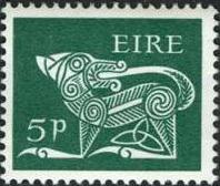Ireland 1969 Old Irish Animal Symbols e.jpg