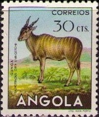 Angola 1953 Animals from Angola d.jpg