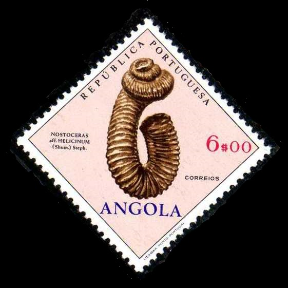 Angola 1970 Fossils and Minerals from Angola k.jpg
