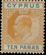 Cyprus 1906 King Edward VII