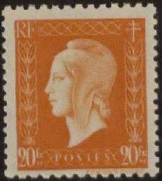 France 1945 Marianne de Dulac (2nd Issue) r.jpg