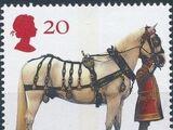 Great Britain 1997 50th Anniversary of the British Horse Society